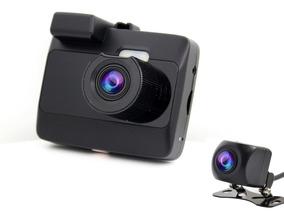 Câmera Veicular Black Box Gp6 + Câmera Traseira Hd 720p