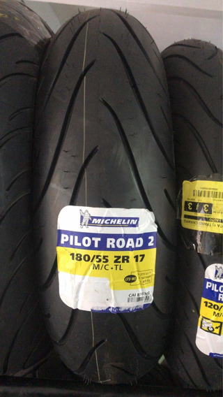 Pneu 180-55-17 Michelin Road 2