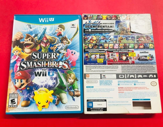Super Smash Bros - Usado - Wii U