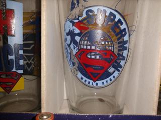 Vasos Coleccionables Vintage Superman