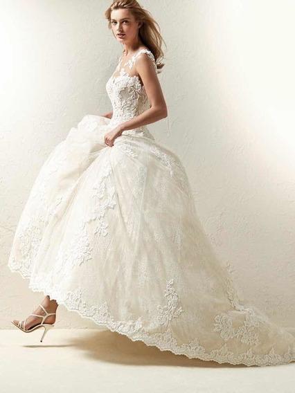 Vestido Blanco Novia+excelentes Condiciones+super Precio!