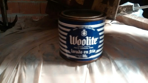 .lata Antigua En Estado Impecable. Woolite
