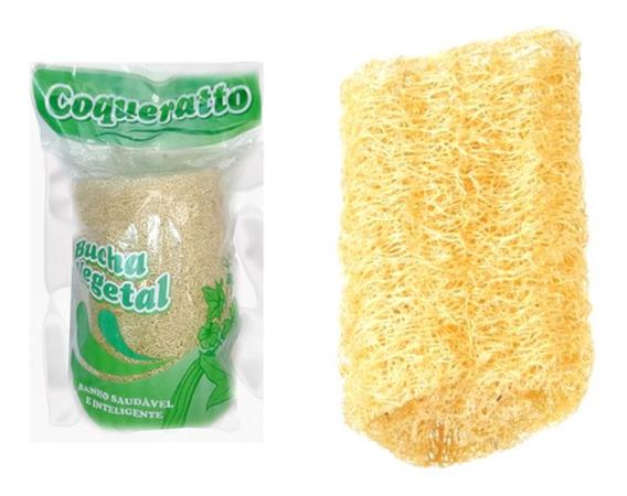 Esponja Bucha Vegetal Para Banho ( Kit Com 6 Unidades)