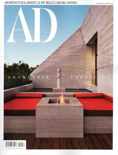 Ad Architectural Digest It - Revista Italiana Casas Belas