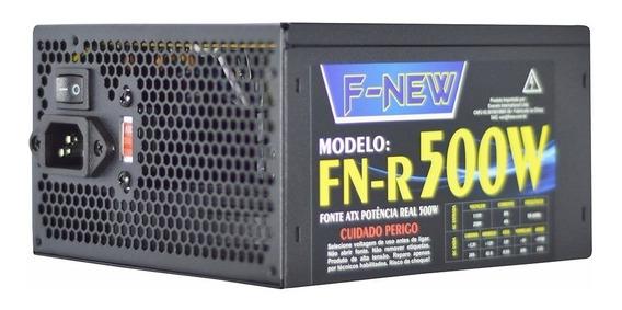 Fonte De Alimentação Atx F-new Fn-r500