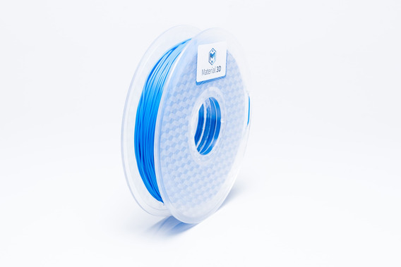 Filamento Tpu 1.75mm Flex Azul 500g Material 3d