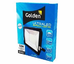 Refletor Led 10w 900 Lumens Branca 6000k Bivolt Golden