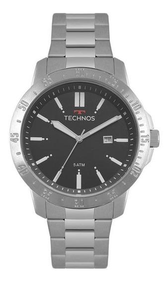 Relógio Technos Masculino Ref: 2115mqt/1c Racer Preto