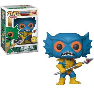 Funko Pop Motu Merman Chase Máster Of The Universe Rosario