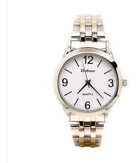 Reloj Dufour Hombre / Malla Metal / Cuadrante Metal Mod.1820