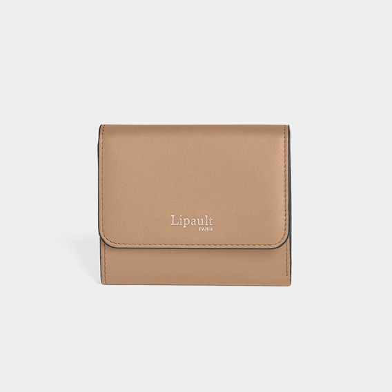 Cartera By The Seine Campact Wallet Casual Lipault Nude