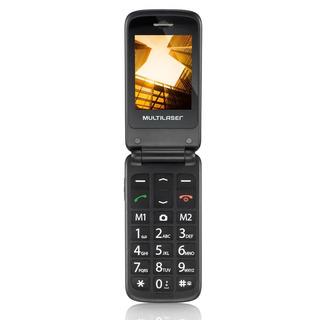 Celular Multilaser Vita Flip P9020 2 Chips Mp3 Bluetooth Câm