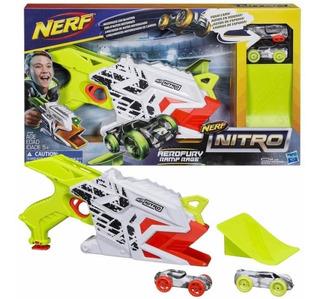 Juego De Autos Nerf Nitro Aerofury Ramp Hasbro / Stgo. Boxer