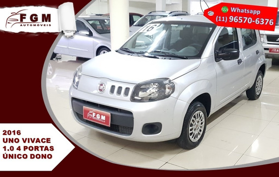 Fiat Uno - 1.0 Evo Vivace 8v Flex 4p Manual 2016
