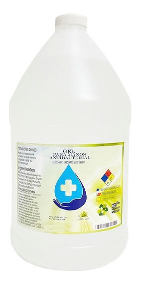 Gel Antibacterial 4 Litros Desinfectante Alcohol De Calidad
