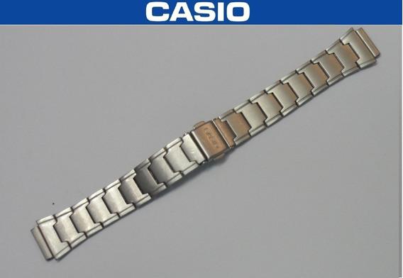 Pulseira Aço Inox Casio Lw-200 Usada Bom Estado