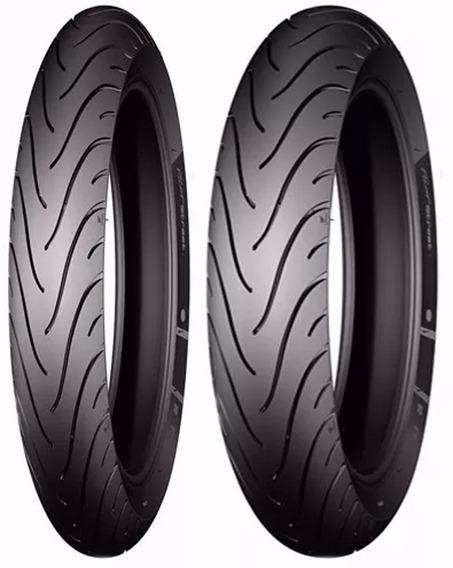 Par Pneu Moto 90/90-18 E 100/90-18 Michelin Pilot Street