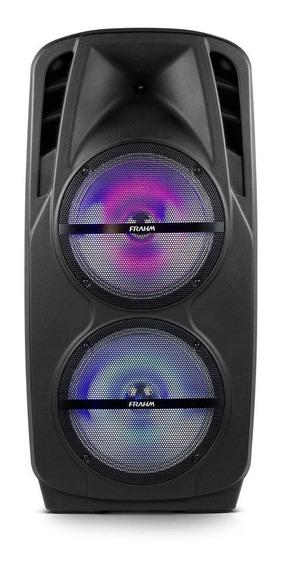 Caixa De Som Frahm 1800w Bateria/microfone Blueto