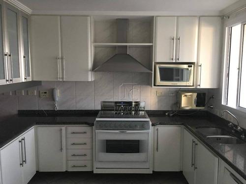 Imagem 1 de 30 de Apartamento Com 3 Dormitórios Para Alugar, 196 M² Por R$ 5.000,00/mês - Centro - Santo André/sp - Ap11331