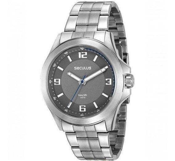 Relógio Seculus Masculino Ref: 20579g0svna1 Casual Prateado