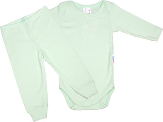 Roupa Bebê Kit 3 Conjuntos Pagão Body E Calça Mijão Algodão