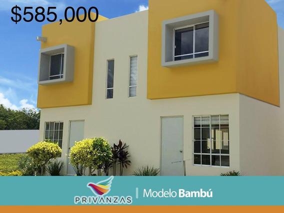 Casa Con Alberca 2 Rec En Veracruz Fracc Privanzas $585,000