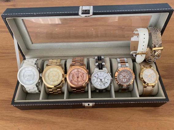 Coleção De Relógios - Michael Kors E Guess