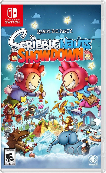 Scribblenauts Showdown Nintendo Switch M. Fisica Envio 12,00