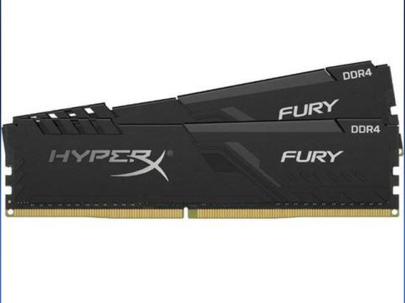 Memória Ram Hyperx Fury Ddr4 16gb (2x8)