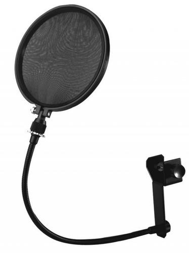 Pantalla Anti Pop Para Microfonos Con Tuerca Tipo Mariposa