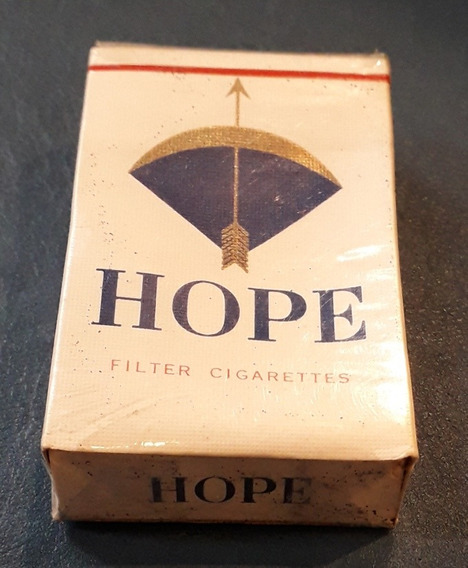 Caja Cerrada Cigarrillo Filter Cigarettes Hope Japan Japon