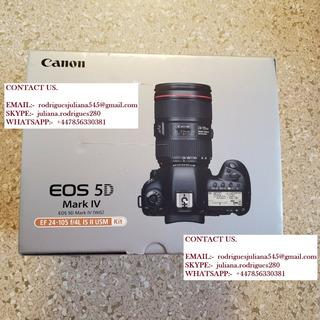 Canon Eos 5d Mark Iv Camera + 24-105mm Lente