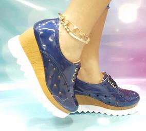 c83b1f7cbd7 Zapatos Mujer Plataformas Oxford - Zapatos en Bogotá D.C. en Mercado ...