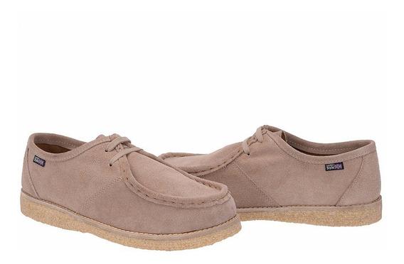 Sapatos Em Solado Crepe Cacareco Estilo Canadian Goma