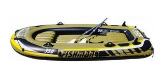 Bote safari fishman 350 Set 3+1per. 0.55mm 1bo.+re. Pesca