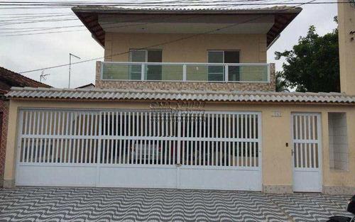 Imagem 1 de 23 de Sobrado De Condomínio Com 2 Dormitórios No Balneário Maracanã - V5702