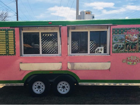 Remolque Comida Tacos Food Truck 20 Ft X 8 Ft - Traila Usa