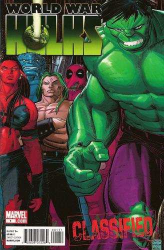 World War Hulks (2010) Cómics Digital Español