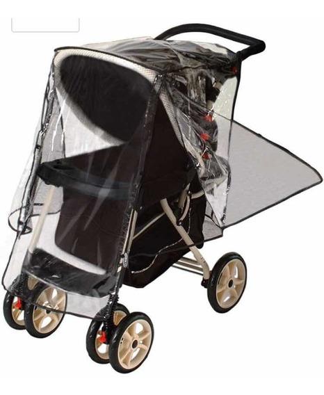 Capa De Chuva Para Carrinho De Bebê, Com Pouco Usomarca Jeep