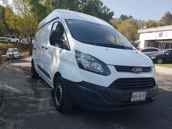 Ford Transit 2.2 Van Larga Techo Alto Custom Mt