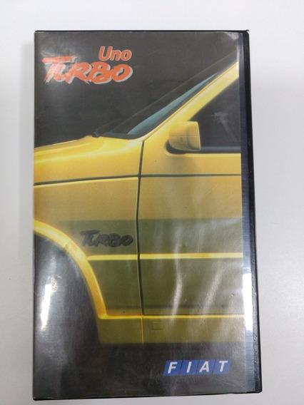Fita Vhs Lançamento Fiat Uno Turbo