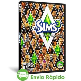 The Sims 3 Pc Todas Expansões Objetos Coleção Mídia Física