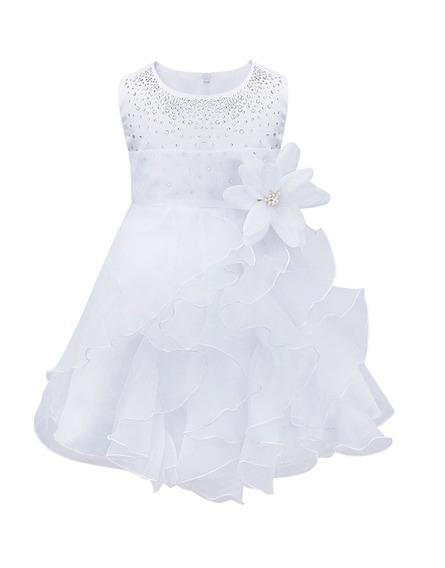 Vestidos Bautizo Para Bebé Niña - Fiesta - Pajecita Tutus