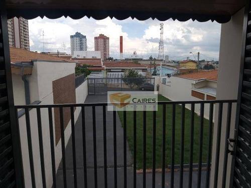 Casa Com 2 Dormitórios À Venda, 120 M² Por R$ 720.000,00 - Jardim Aurélia - Campinas/sp - Ca3118