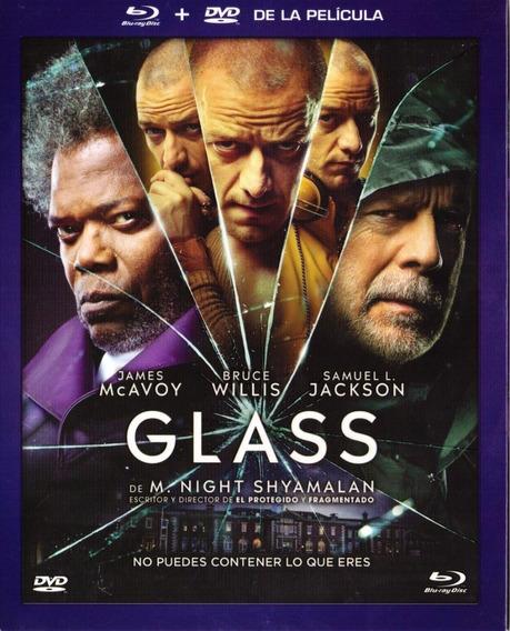 Glass M Night Shyamalan Pelicula Bluray + Dvd Slipcover