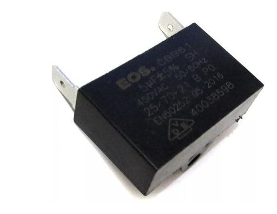 Capacitor 5uf 450vac Cbb61 P/ Ar Condicionado - 25 Peças