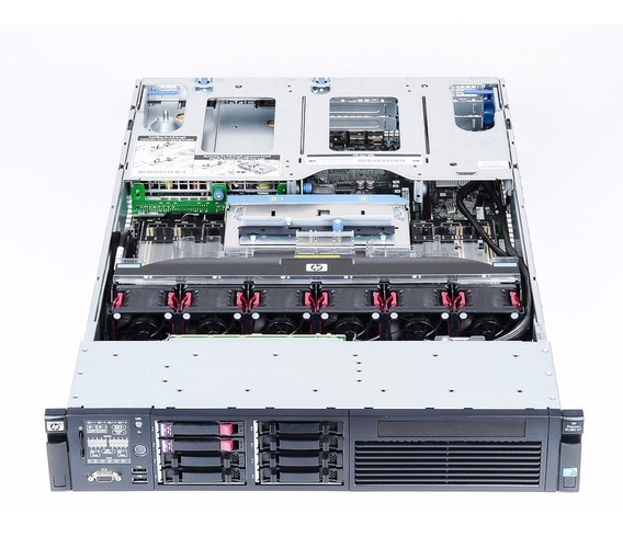 Servidor Hp Dl380 G7 2 Xeon Quad 32gb 2 Hd Sas 450gb Nf