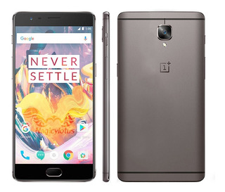 Smartphone Oneplus 3t Desbloqueado 6g Ram 128gb Mem + Brinde