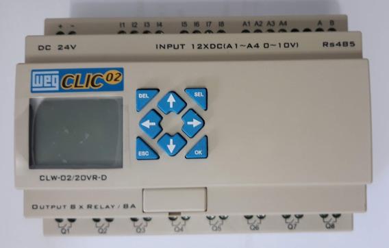 Clp Clic2 Clw-02 20vr-d 3rd 24vcc Weg 12e/8relé Modbus Rs485
