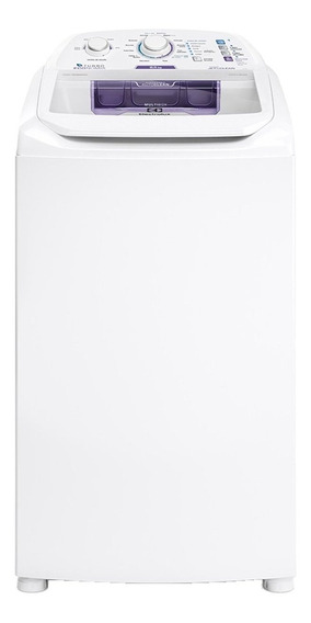 Lavadora de roupas automática Electrolux Turbo Economia LAC09 branca 8.5kg 110V